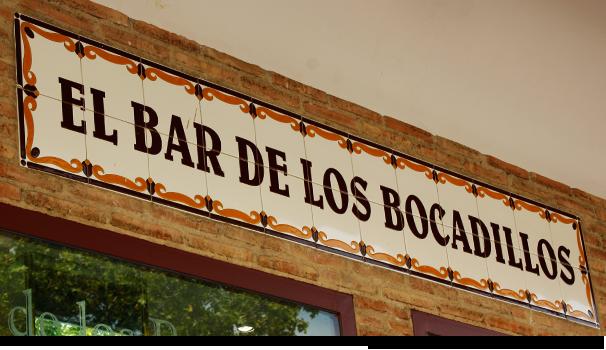 El bar de los bocadillos