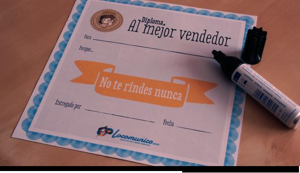 Diploma: No te rindes nunca