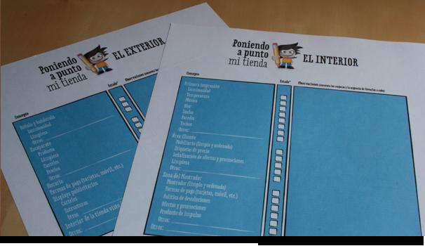Checklist, El exterior y el interior