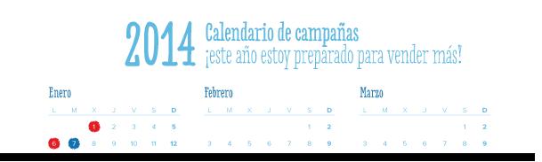 Todo es más sencillo con un calendario de campañas