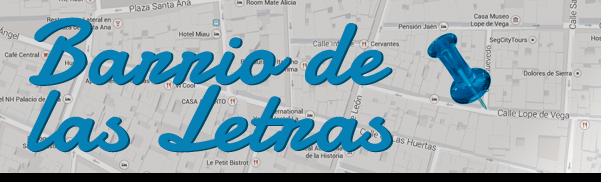 Paseando por… Barrio de las Letras (Madrid)