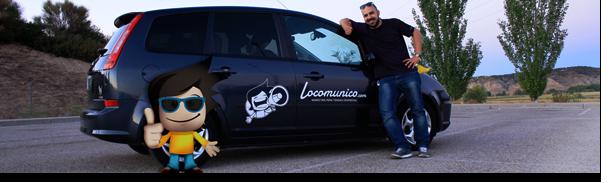 ¡Mira, el coche de Locomunico!