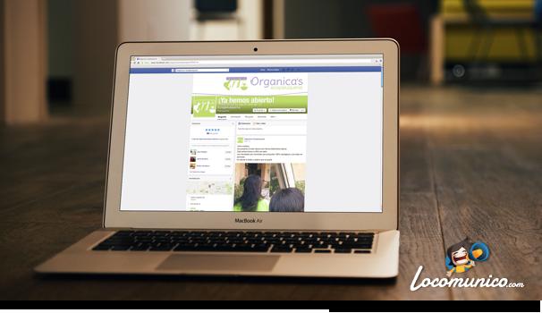Facebook Organica's
