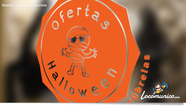Cartel Halloween Locomunico