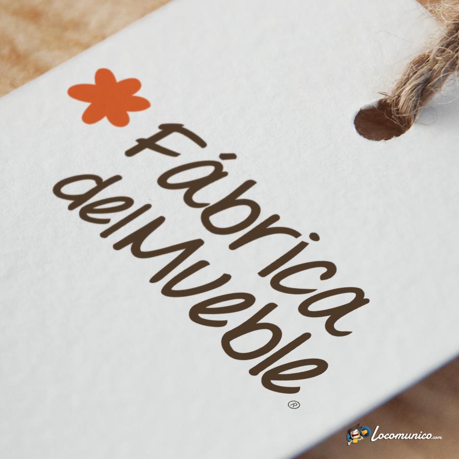 Diseño de logotipo para tienda de venta y fabricación de muebles.