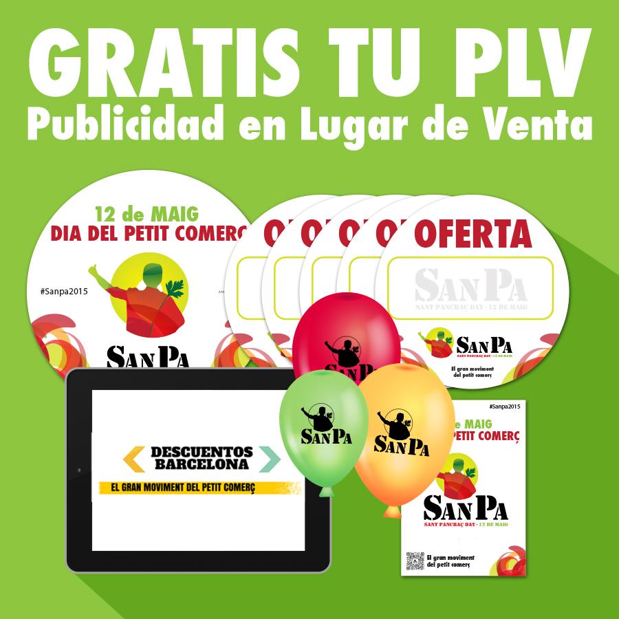Gratis tu PLV. Publicidad en Lugar de Venta