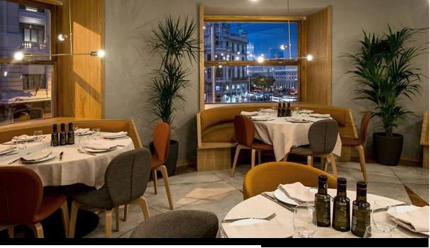 Sala restaurante Atalanta