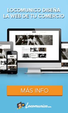 Locomunico  diseña la web responsive de tu comercio