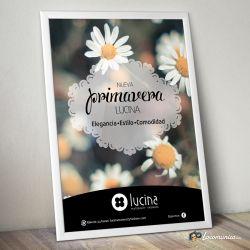 Diseño e impresión de Campaña de Primavera para Lucina Maternity Fashion.