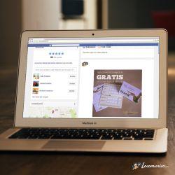Diseño de publicidad en Facebook para comunicar la nueva tarjeta de fidelización de Beatriz Rodriguez Beauty Room.